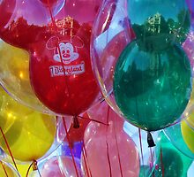 Disneyland Baloons by jennisney