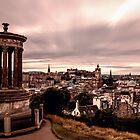 Edinburgh Skyline by KarenMcDonald
