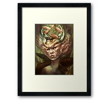 The Depthful Wish Framed Print