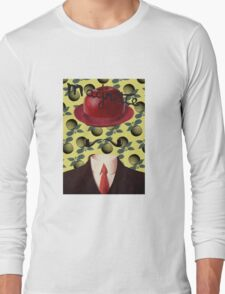 Tribute to MAGRITTE Long Sleeve T-Shirt