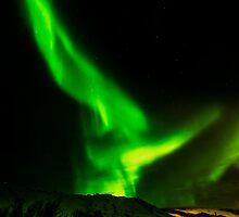 Aurora Borealis in Norway by KarenMcDonald
