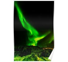 Aurora Borealis in Norway Poster