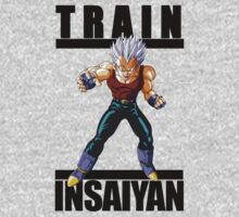 TRAIN INSAIYAN T-shirt by nagasaki