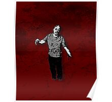 Steve - Zombie Poster