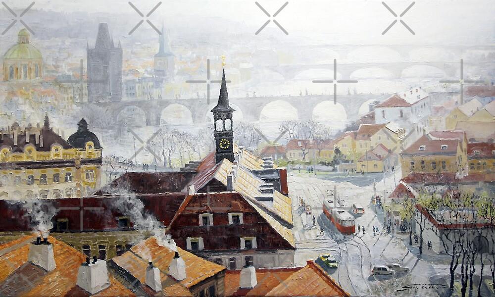 Praha Early Spring by Yuriy Shevchuk