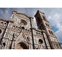 Il Duomo - Florence Cathedral (Italy) Photographic Print