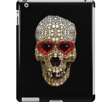Skull Art - Day Of The Dead 3 Stone Rock'd iPad Case/Skin