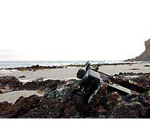 Malibu Beach Motor (California) Photographic Print