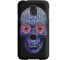 Skull Art - Day Of The Dead 1 Stone Rock'd Art By Sharon Cummings Samsung Galaxy Case/Skin