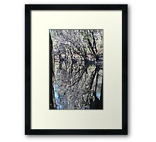 Limbs Akimbo Framed Print