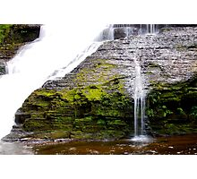 Waterfall Your Own Way (Delaware Water Gap) Photographic Print