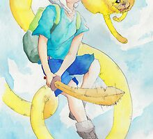 Finn & Jake by AjaS
