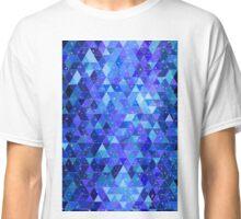 Space blue geometry Classic T-Shirt