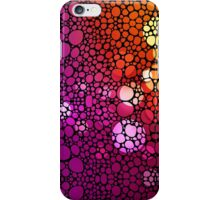 Stone Rock'd Rainbow - Art By Sharon Cummings iPhone Case/Skin