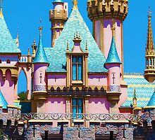 Sleeping Beauty Castle by jennisney