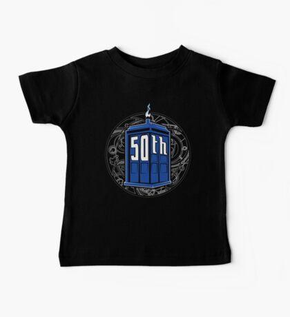 Happy 50th Tardis Kids Clothes