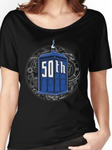 Happy 50th Tardis Women's Relaxed Fit T-Shirt