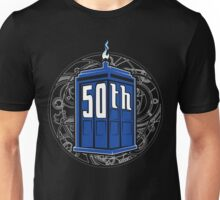 Happy 50th Tardis Unisex T-Shirt