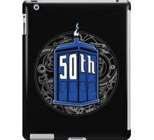 Happy 50th Tardis iPad Case/Skin