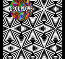 Grouplove Gig Poster by Elizabeth Jolly