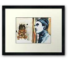 The Time of the Doctor. Framed Print