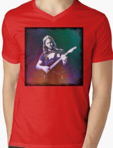 David Gilmour Art Mens V-Neck T-Shirt