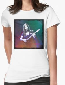 David Gilmour Art Womens Fitted T-Shirt