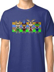 Star Fox Team Pixels Classic T-Shirt