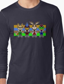 Star Fox Team Pixels Long Sleeve T-Shirt