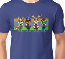 Star Fox Team Pixels Unisex T-Shirt
