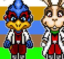 Star Fox Team Pixels Sticker