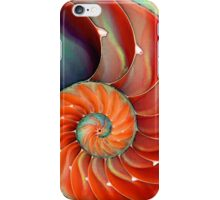 Nautilus Shell - Sea Shells iPhone Case/Skin