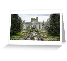 Hatley Castle - Regular Greeting Card