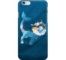 Vaporeon Silhouette iPhone Case/Skin