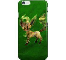 Leafeon Silhouette iPhone Case/Skin