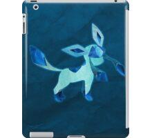 Glaceon Silhouette iPad Case/Skin