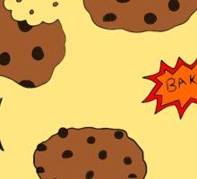 Pop art cookies Sticker