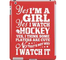 Hockey girl iPad Case/Skin