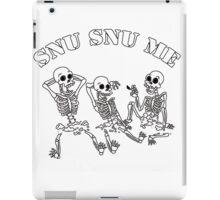 FUTURAMA SNU SNU DEATH iPad Case/Skin