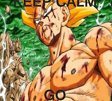 Don't Keep Calm, Go Super Saiyan (12) by LagrangeMulti