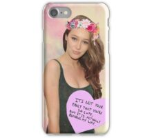 Alycia Debnam - Carey phone case iPhone Case/Skin