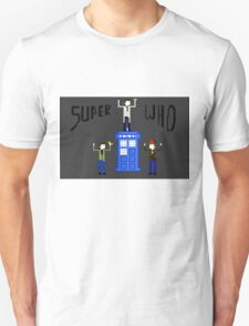 Supernatural And The Tardis T-Shirt