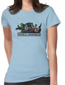 Space Marines! Womens Fitted T-Shirt