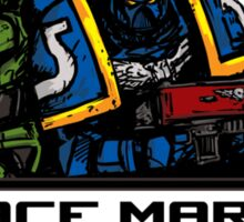 Space Marines! Sticker