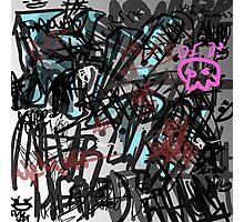 Digi graffiti  Photographic Print