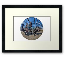 Pickles the pup Framed Print
