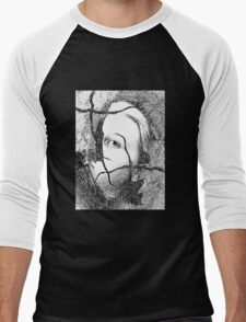 Broken Doll Men's Baseball ¾ T-Shirt