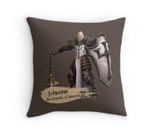 The Crusader of Zakarum Throw Pillow