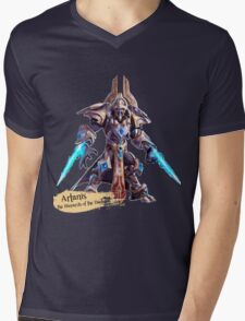 The Hierarch of the Daelaam Mens V-Neck T-Shirt