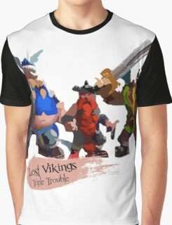 Triple Trouble Graphic T-Shirt